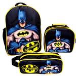 combo morral lonchera y cartuchera motivo Batman - Oba design | Corporacion OBA, c.a.