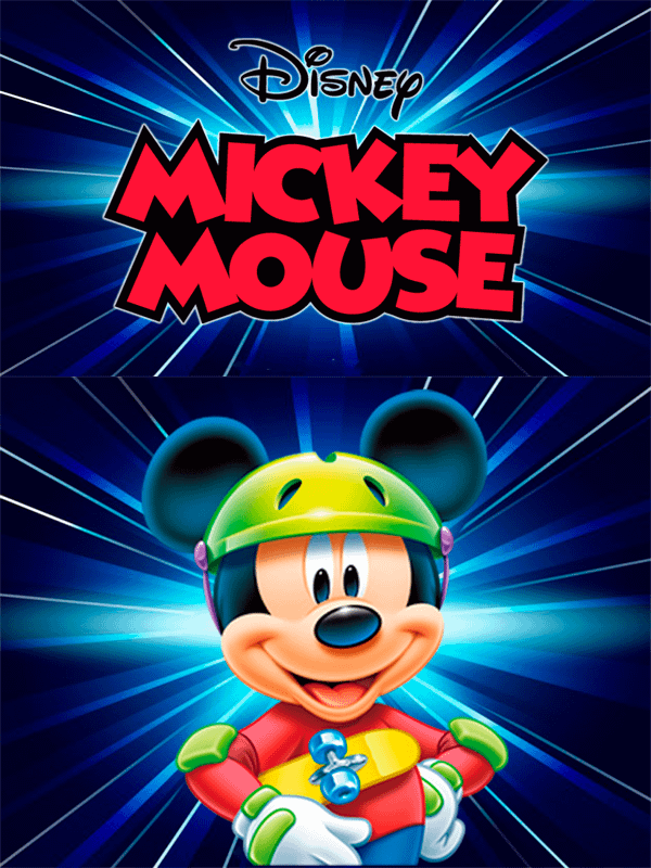 Motivo Mickey 03 Oba design - Corporacion OBA, c.a.