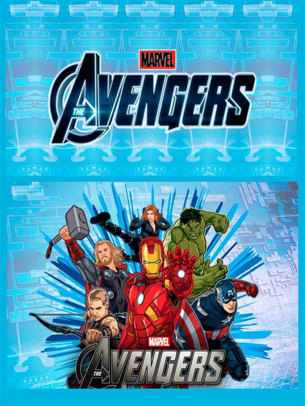 Motivo Avengers 02 Oba Design - Corporacion OBA, c.a.