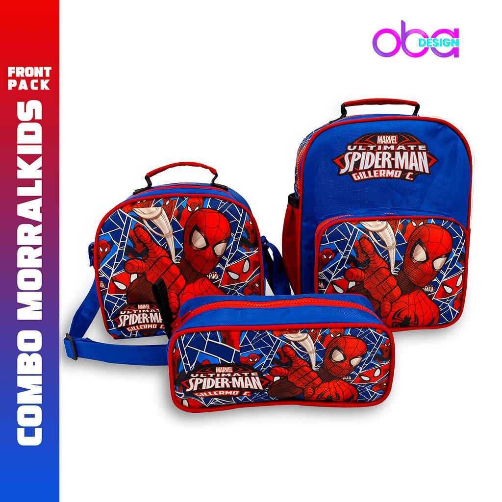 Combo de morral escolar Morralkids Front Pack   OBA Design - Corporacion OBA, c.a.