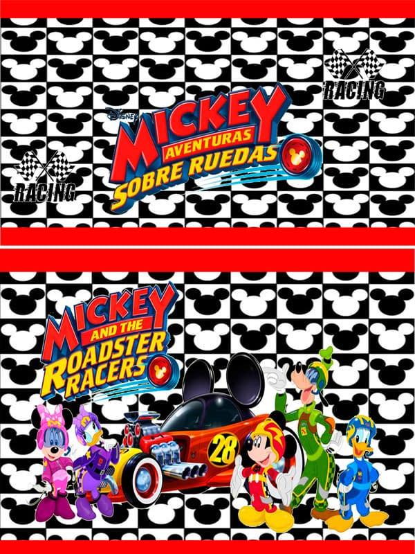 Motivo Mickey sobre ruedas 03 Oba design - Corporacion OBA, c.a.