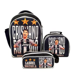 Combo XL Morral. lonchera y cartuchera Juventus Cristiano Ronaldo | OBA Design Corporacion OBA, c.a.