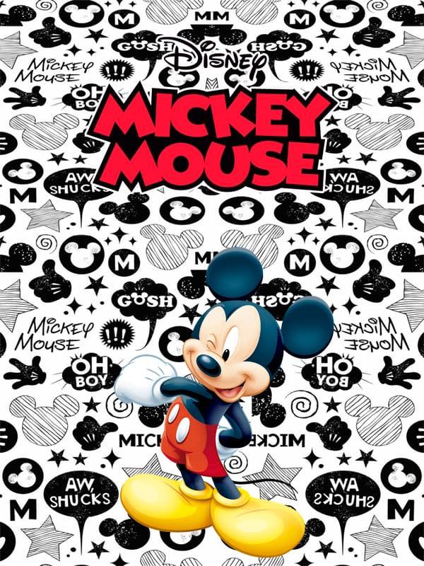 Motivo Mickey 01 Oba design - Corporacion OBA, c.a.