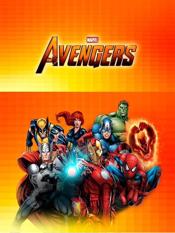 Motivo Avengers 01 Oba Design - Corporacion OBA, c.a.