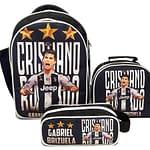 Combo morral bolso lonchera y cartuchera Juventus cristiano ronaldo OBA Design | Corporacion OBA, c.a.