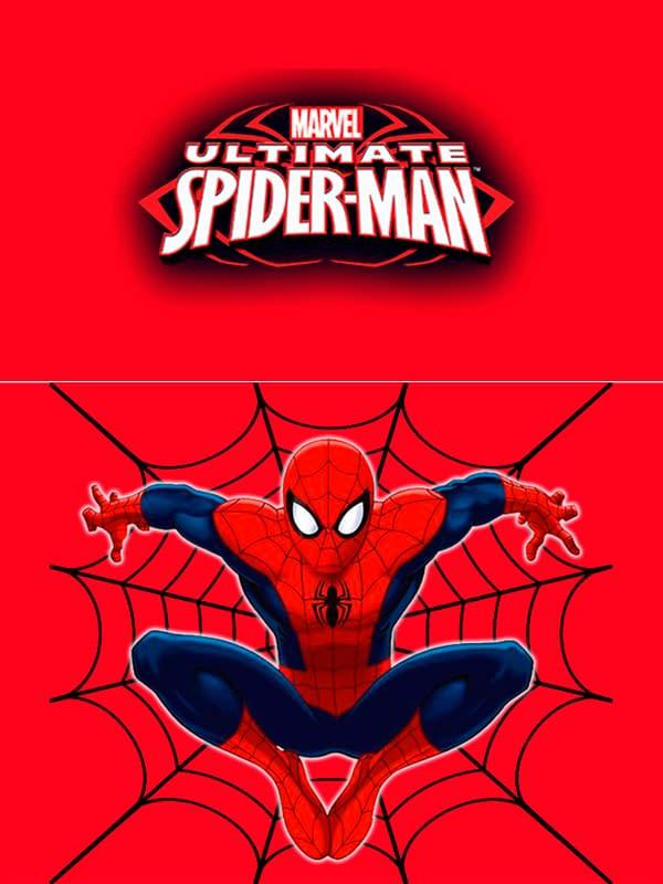 Motivo 01 Spiderman para Morrales, Loncheras y Cartucheras Oba Design - Corporación OBA, c.a.