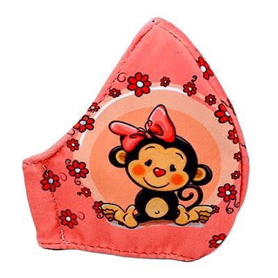 Tapabocas Monkey Dama   Oba Design - Corporacion OBA, c.a.