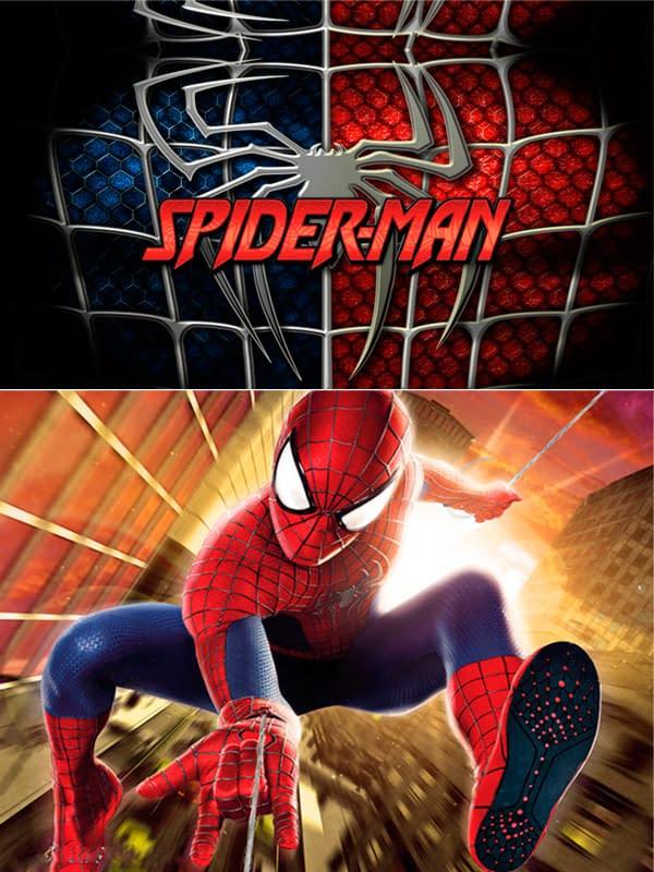 Motivo 03 Spiderman para Morrales, Loncheras y Cartucheras Oba Design - Corporación OBA, c.a.