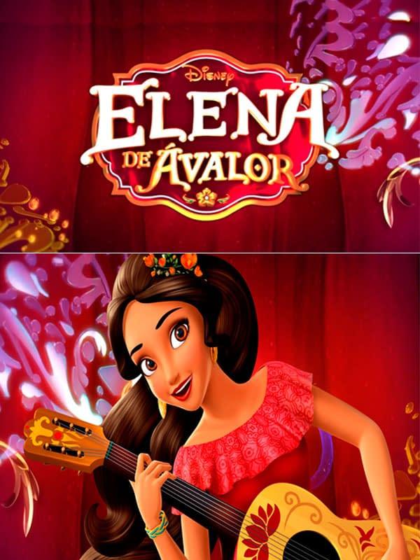 Motivo Elena de Avalor 01 Oba Design - Corporacion OBA, c.a.